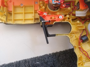 NERF Stampede Magazine Release Lever and Trigger Guard Fix