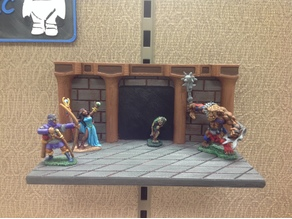 Cubicle Miniature Display - Dungeon