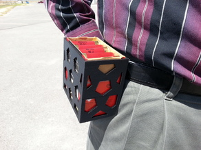 Trap Shooting One Box Shell Holder