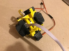 EZRobot camera mount for Inmoov