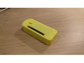 Raspberry Pi Zero WiFi Camera Case for use with GPIO