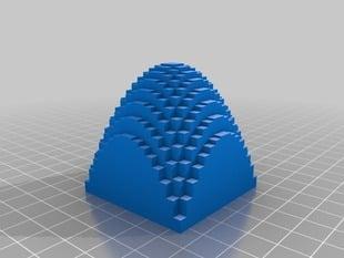A Discretized Paraboloid