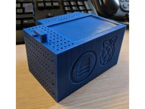 """Raspberry Pi 3, Pi 2, and Model B+ case with slots 2,5"""" HDD"""
