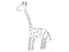 Giraffe (Punktgiraffe)
