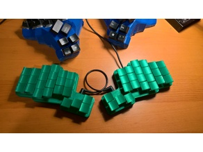 Crocodox Keyboard with Matias Switches