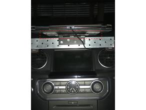 Tablet Holder for Car with Hinge (Galaxy Tab, Land Rover)