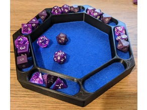 7 Sided Dice Tray