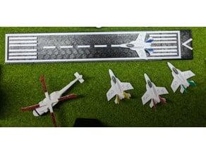 runway ( z scale)