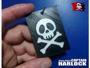 Llavero capitan harlock 2
