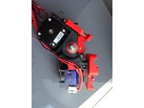 Direct Geared Belted Extruder V2 - 1,75mm