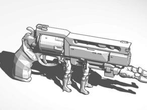 gun with legs