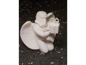 StormTrooper angel with gift