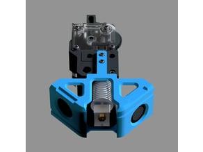 Radial fan mount for UM2 Titan extruder mount