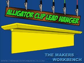 Alligator Clip Lead Hanger