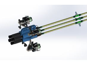Fishing Pole, Carry Handle