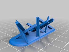tank trap scaled for 1:72/20mm