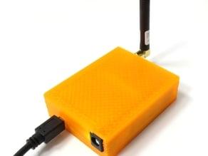 "Housing for Arduino Leonardo compatible evaluation board with WiFi/Bluetooth module ""radino Leonardo"""