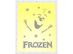 KIDS MOVIE POSTERS MINIMALIZED STENCILS PACK OF SIX