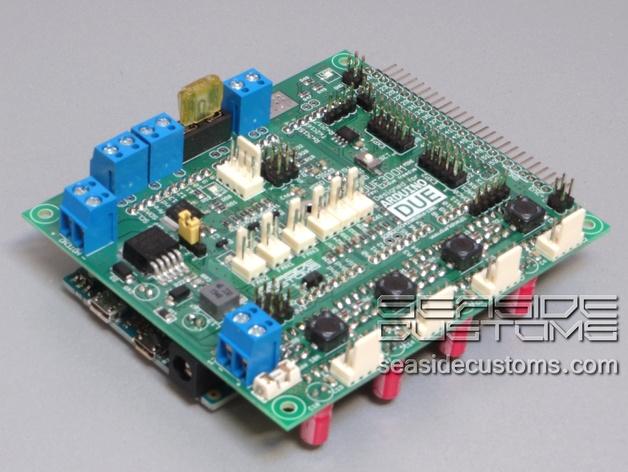 Due dom mini reprap electronic arduino shield by