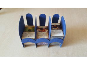 """""""Draw from bottom"""" card tray for Eldritch Horror"""