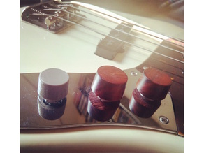 Electric Bass/Guitar Simple Tone Knob