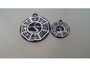 Dharma Initiative Keychain/Pendant from Lost