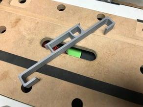 Festool rail holder for systainer