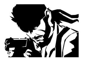 MGS Snake stencil