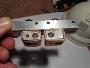 dual nozzle alignment method.