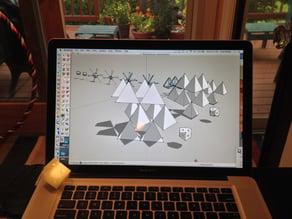 Tetrahedral Hubs