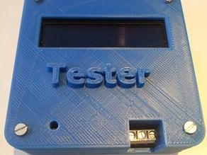 M328 Transistor tester case
