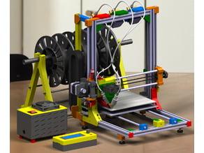 Tricolor 3D Printer
