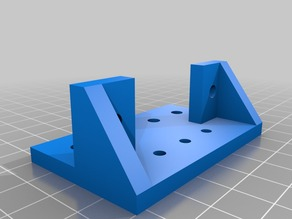Adminlabs Y axis belt bracket reinforced