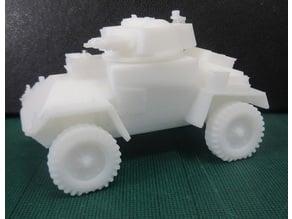 British Guy Armored car WW2