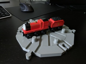 Train Turntable (6-way)