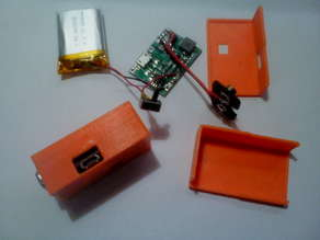 9V Battery with 800mAh Li-Po