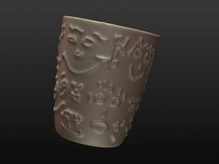 How To Sculpt A Cup