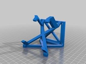 Printrbot 1405 rear leg (PI mount)