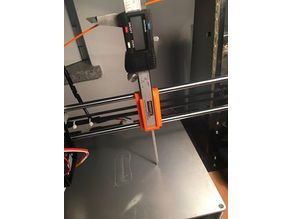 Anet A8 Caliper Support to HotBed Calibration