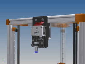 Mount for SeemeCNC's EZStruder on 2020 extrusions