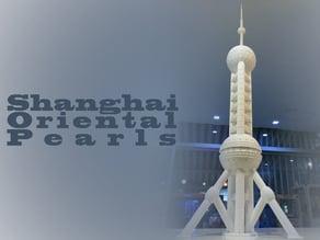 Shanghai Oriental Pearl Building