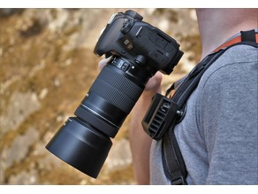 Camera Backpack Mount (works with heavy DSLRs)