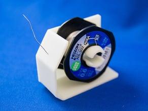 Solder spool holder