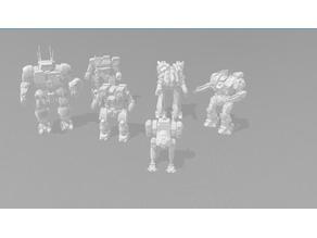iiCMechs Mechwarrior Online