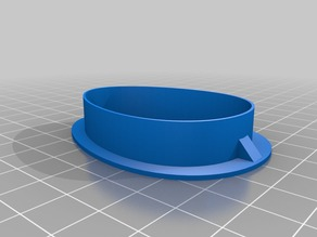 Easter Egg Cookie Cutter fixed for better perimeter