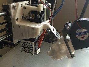 Hictop Prusa i3 - X Axis Carriage
