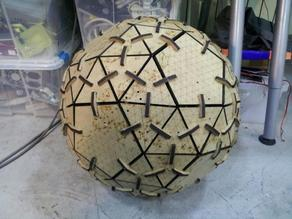Snub Dodecahedron Globe
