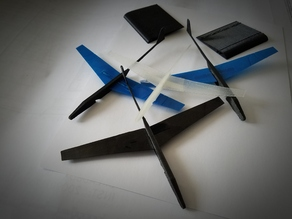 Project: Rubberband Glider