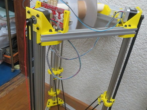 DeltaPrinter HIMAWARI(Org.Reprap Part2)