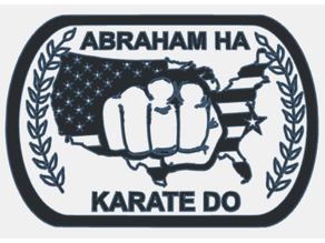ABRAHAM HA KARATE DO patch